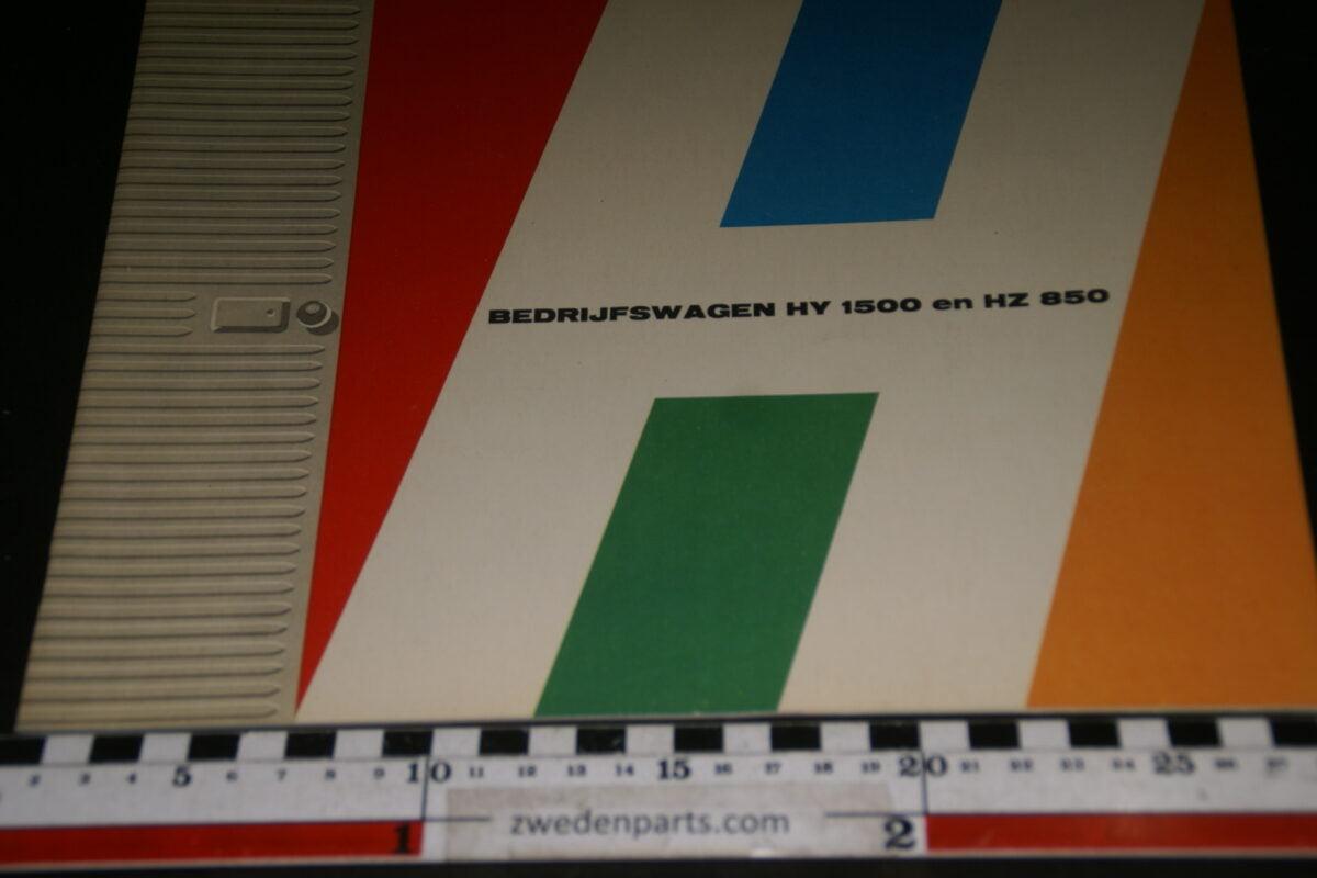 DSC08457 ca 1960 originele brochure Citroen HY 1500 en HZ 650 nr. 7152-13-8-1-6c332cbf